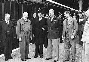Churchill in Droxford